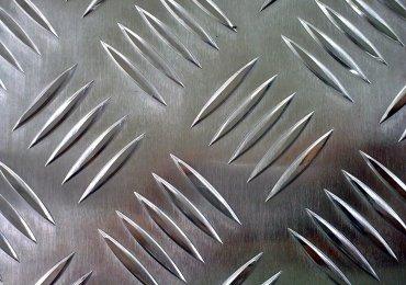 Aluminium-Trittplatte